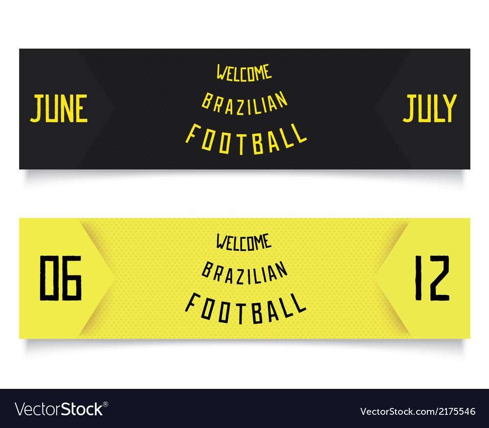 Two design for football tickets