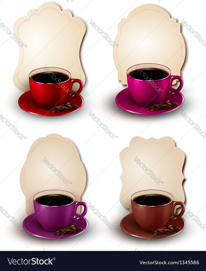 Coffee design template vector