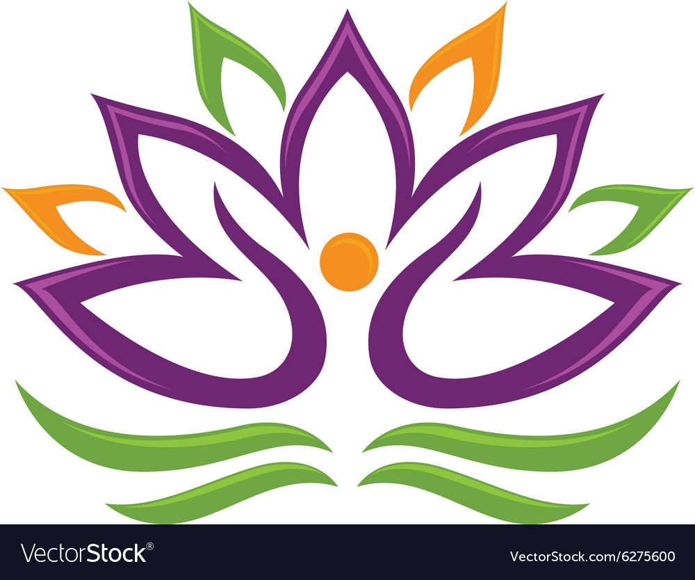 Lotus Flower Logo Vector By Elaelo Image 6275600