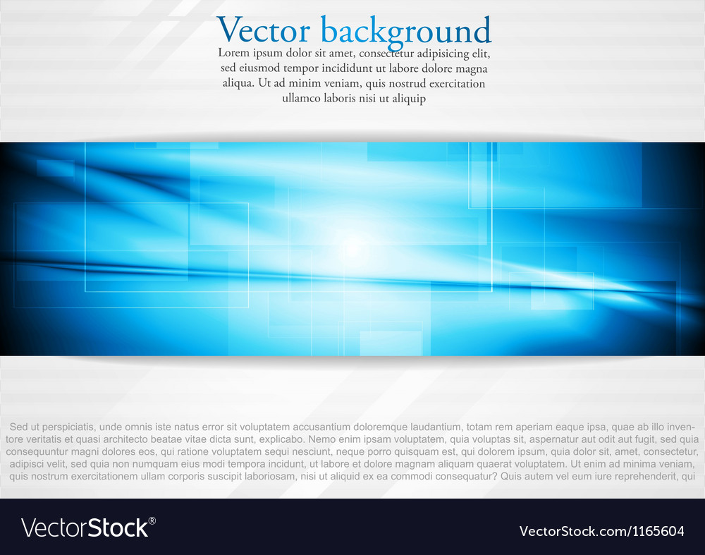 Elegant tech business design vector