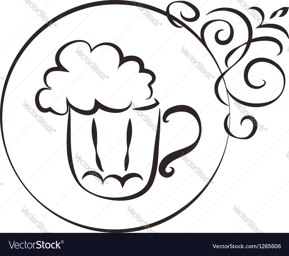 Pub sign vector