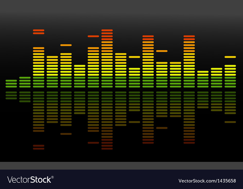 Equalizer abstract background vector