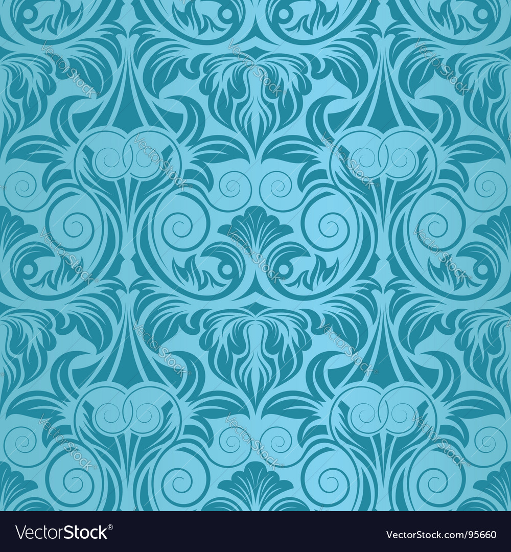 Turquoise seamless vector