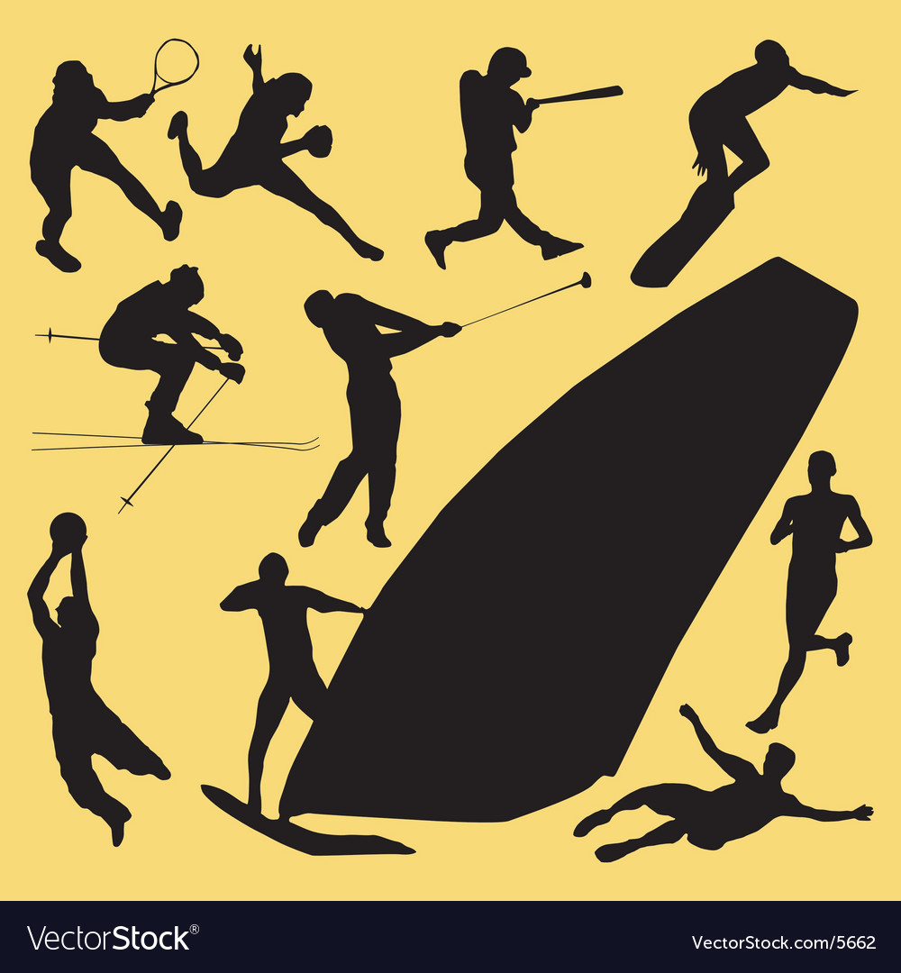 Outdoor sports vector