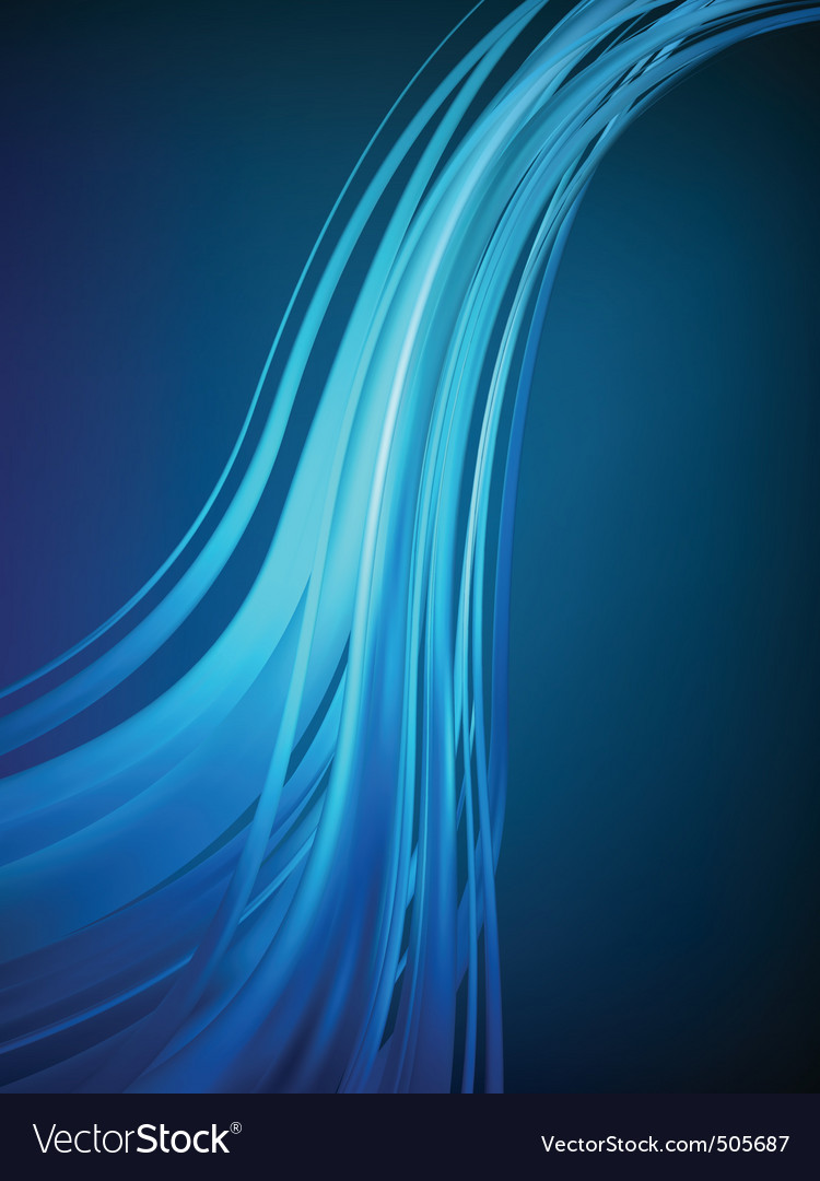 Blue concept abstract background eps 8 vector