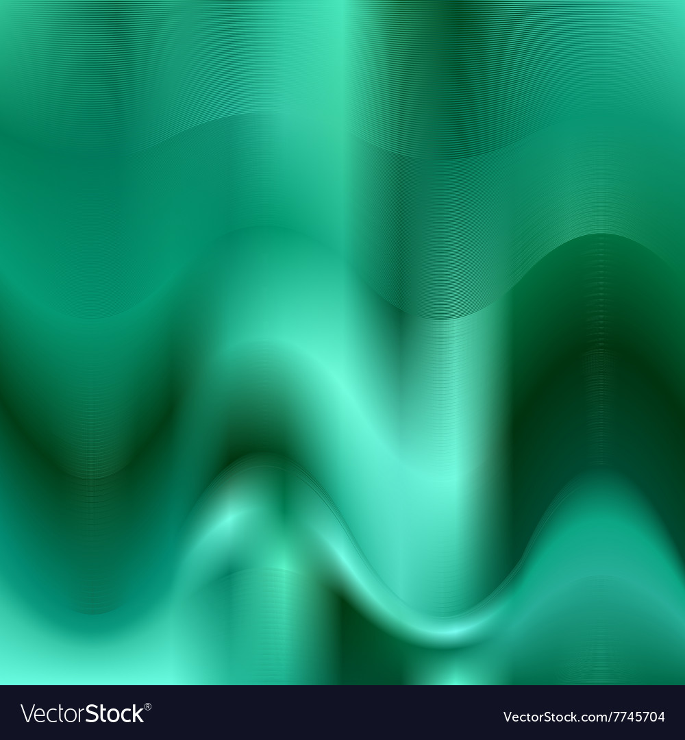 Turquoise abstract wave background