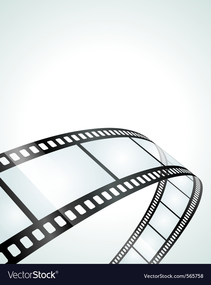 Film Strip: Film Strip Background Vector By VikaSuh