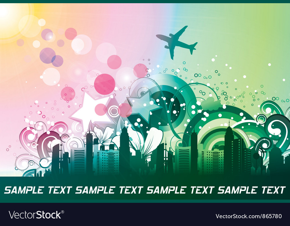 Free urban background vector