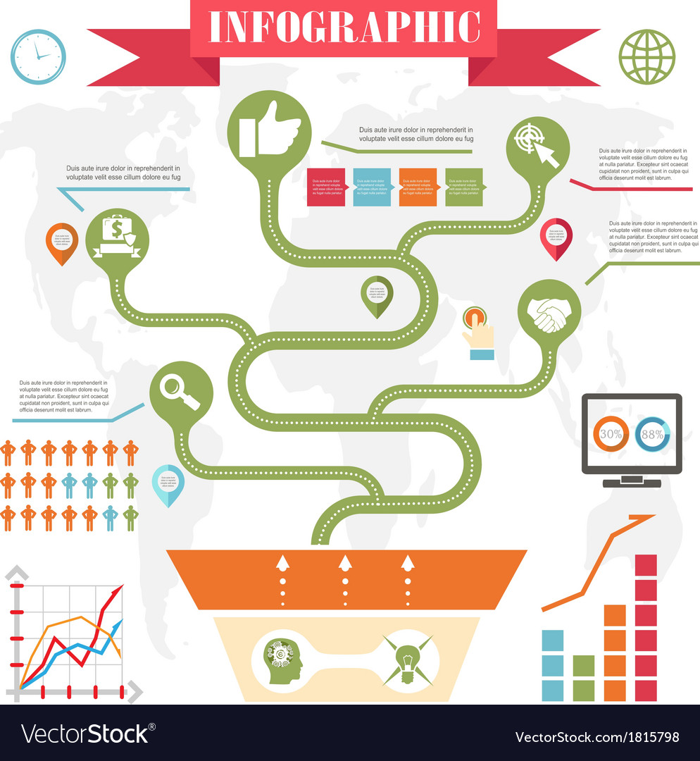 Business steps development infographics vector by Meilun - Image ...