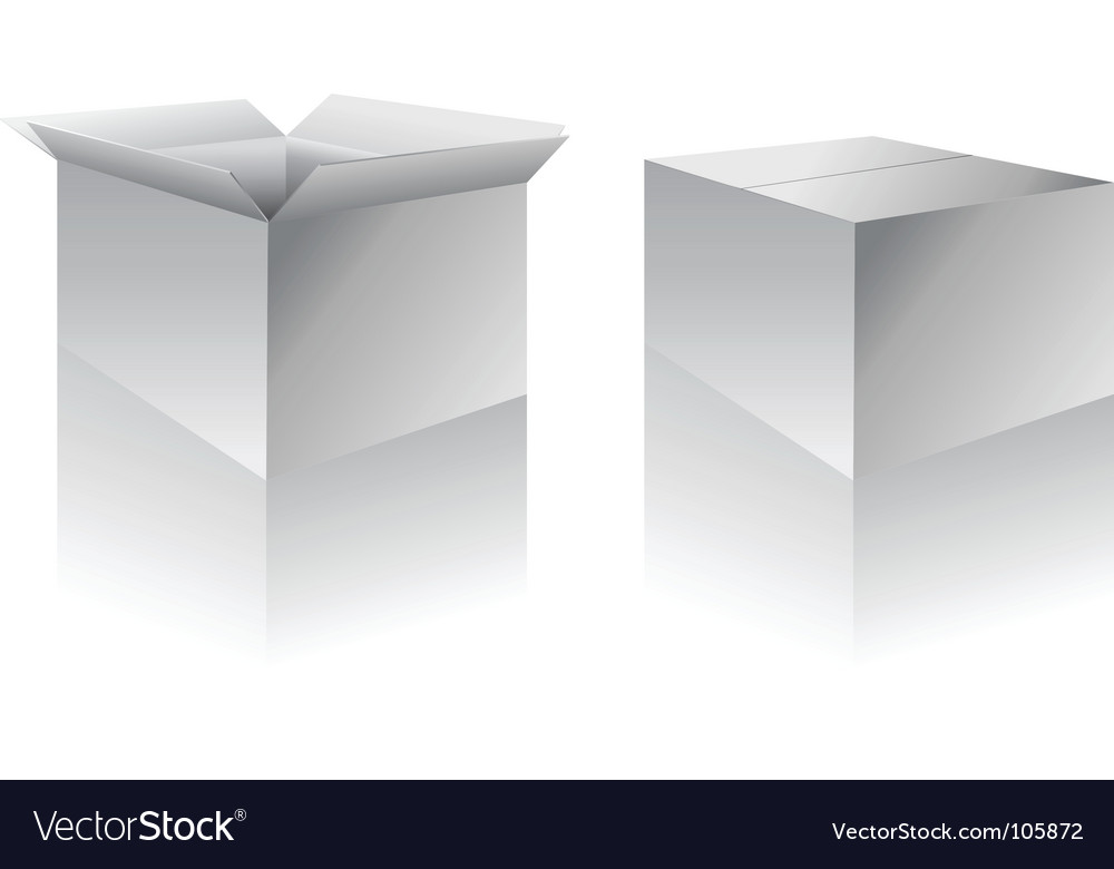 Boxes vector