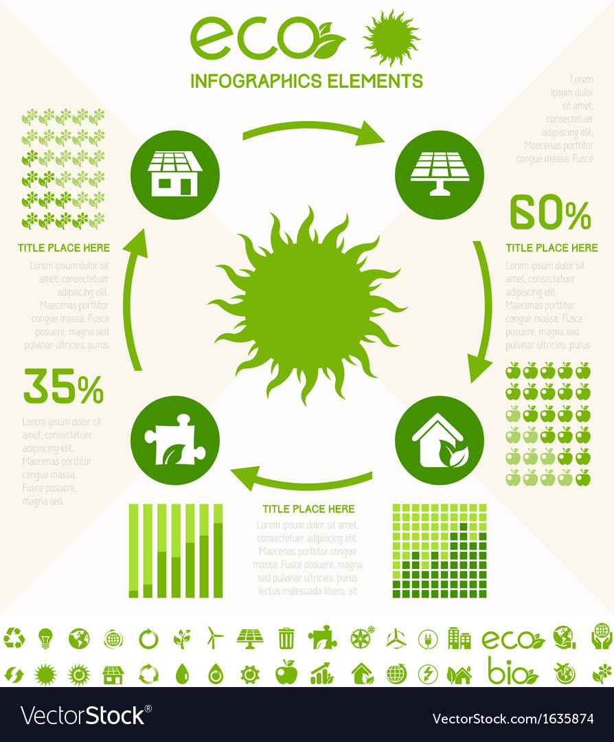 Ecology infographic template vector by RAStudio - Image #1635874 ...