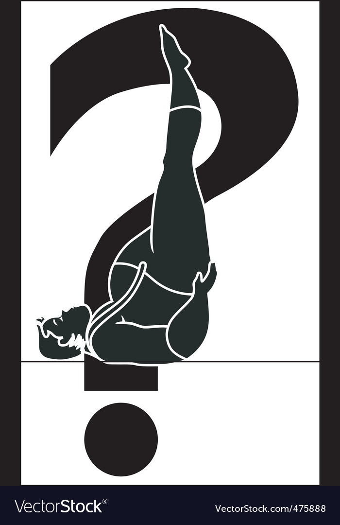 Yoga man vector