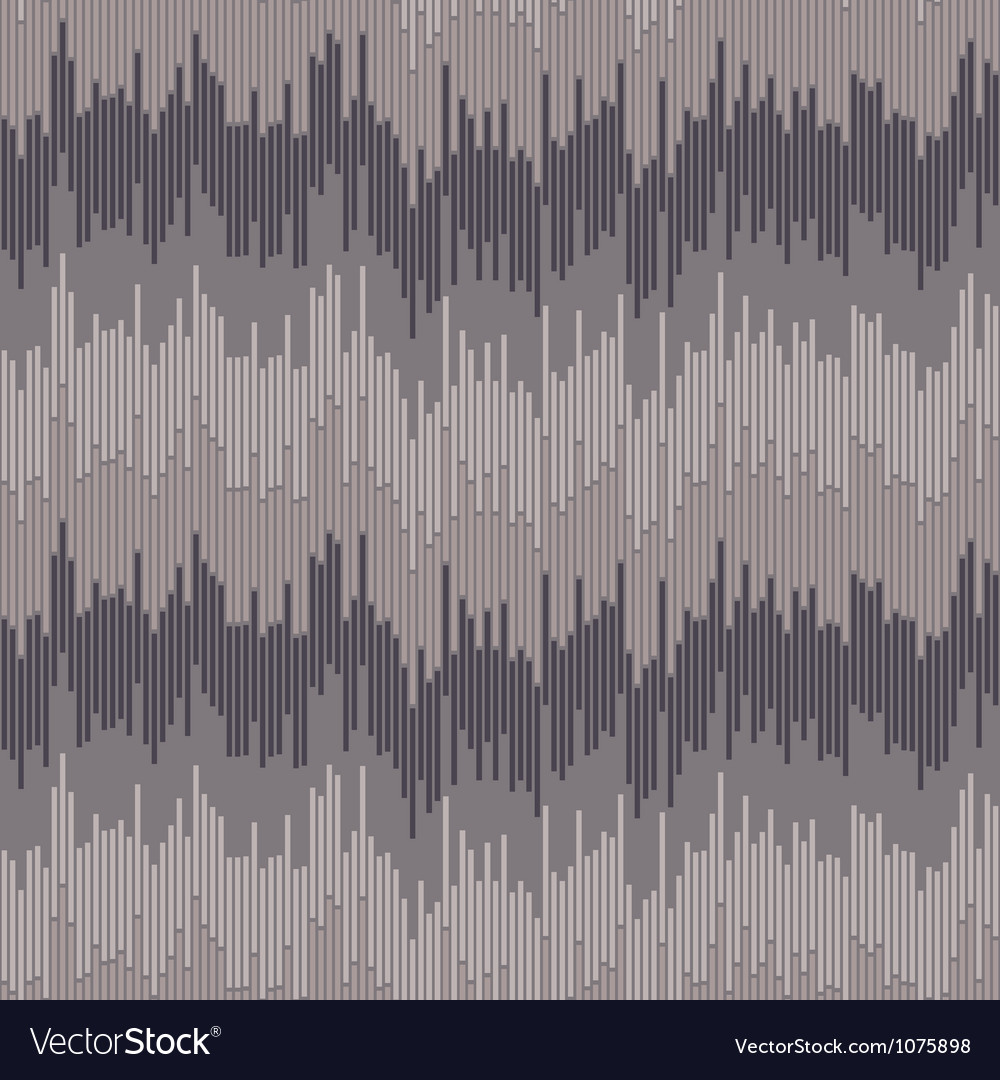 Abstract wave pattern vector