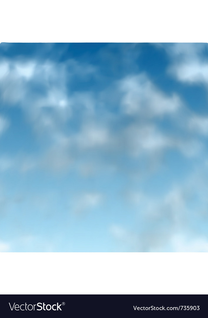 Swamless clouds vector