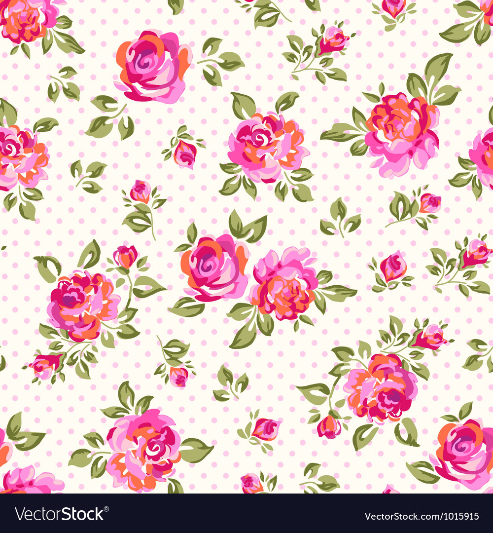 Light bright roses vector