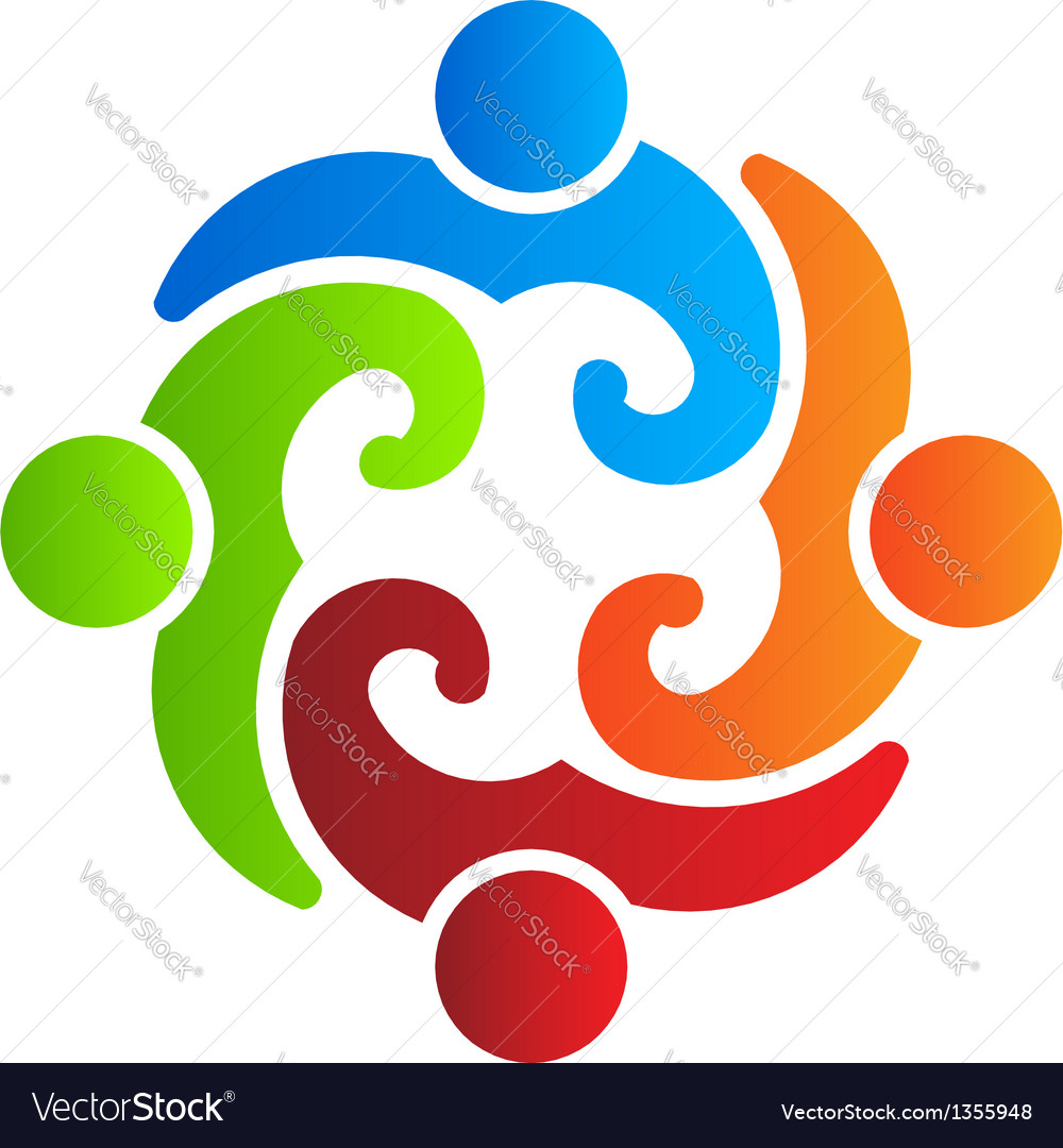 People group 4  icon design element vector