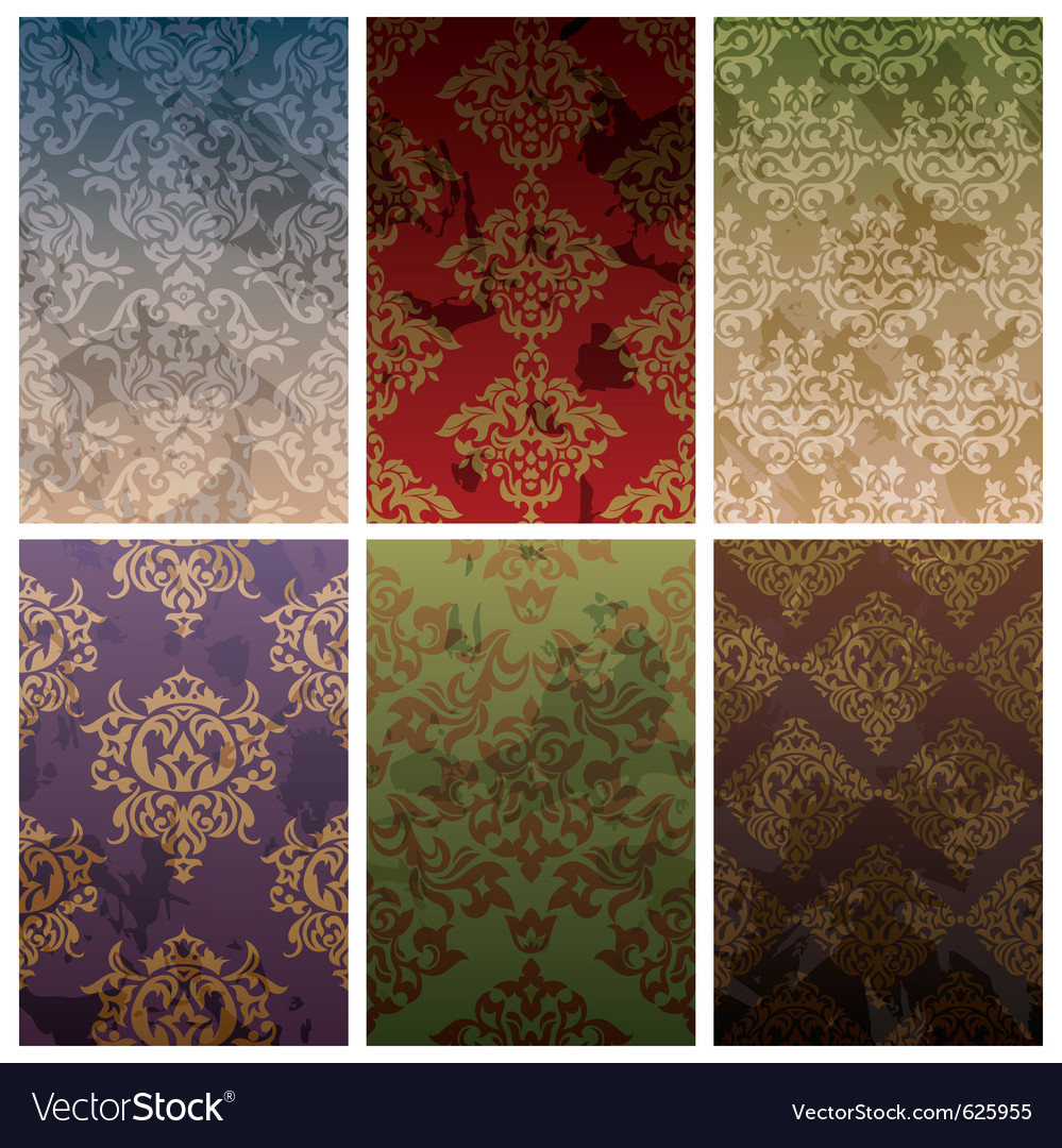 Seamless vintage background vector