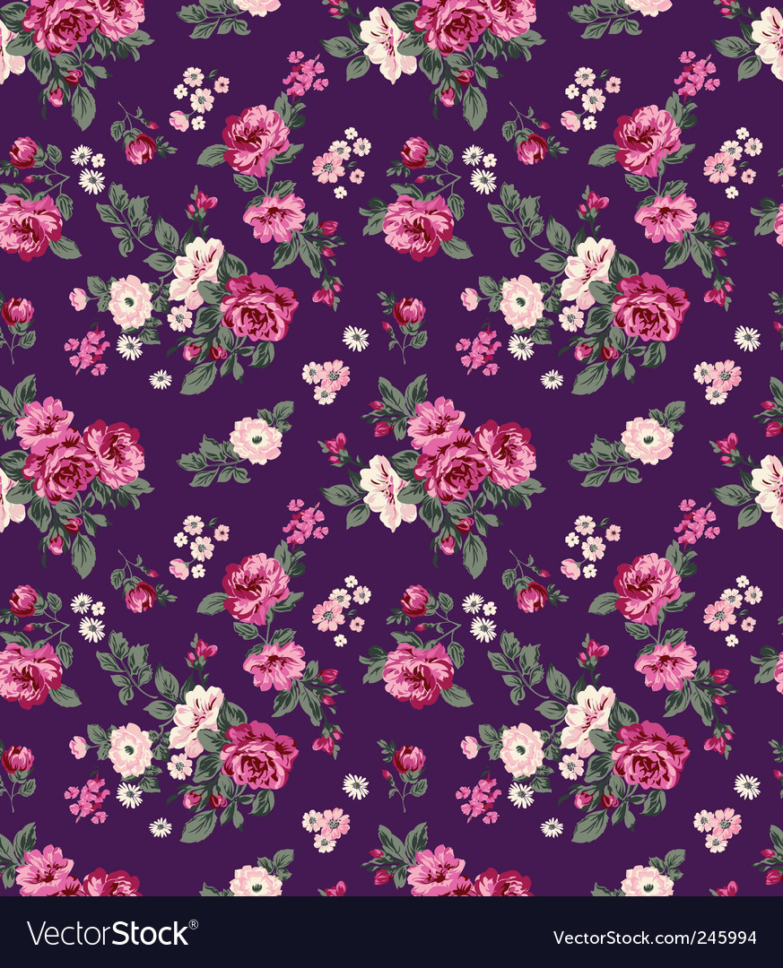 Juicy flowers vector