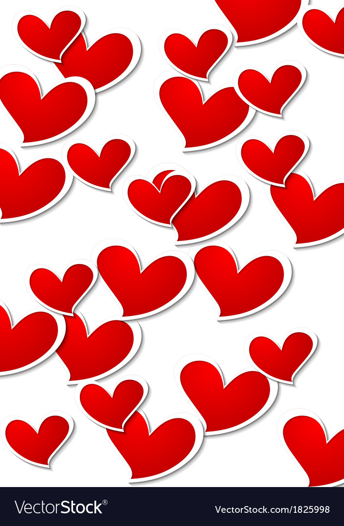 Valentines day bright background