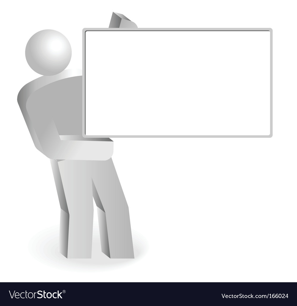 Empty board vector