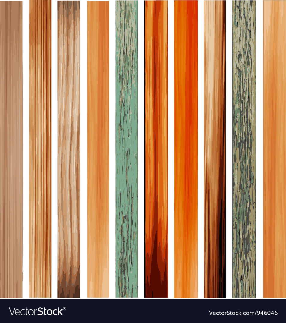 Colorful texture of wood vector