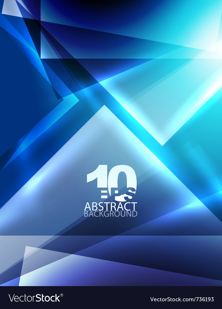 Abstract geometric background vector