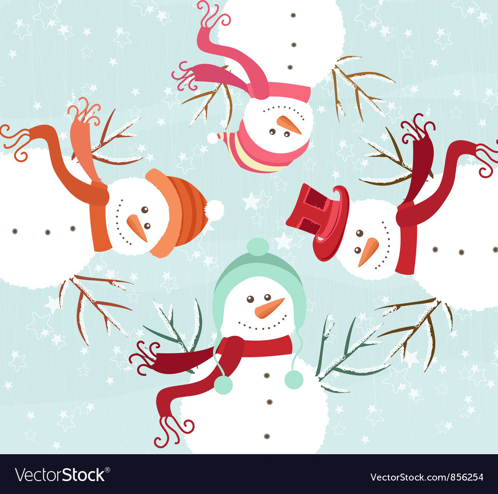 Free winter background vector