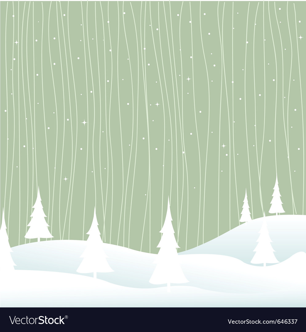Winter  christmas vector
