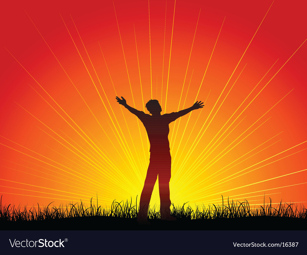 Worship design vector