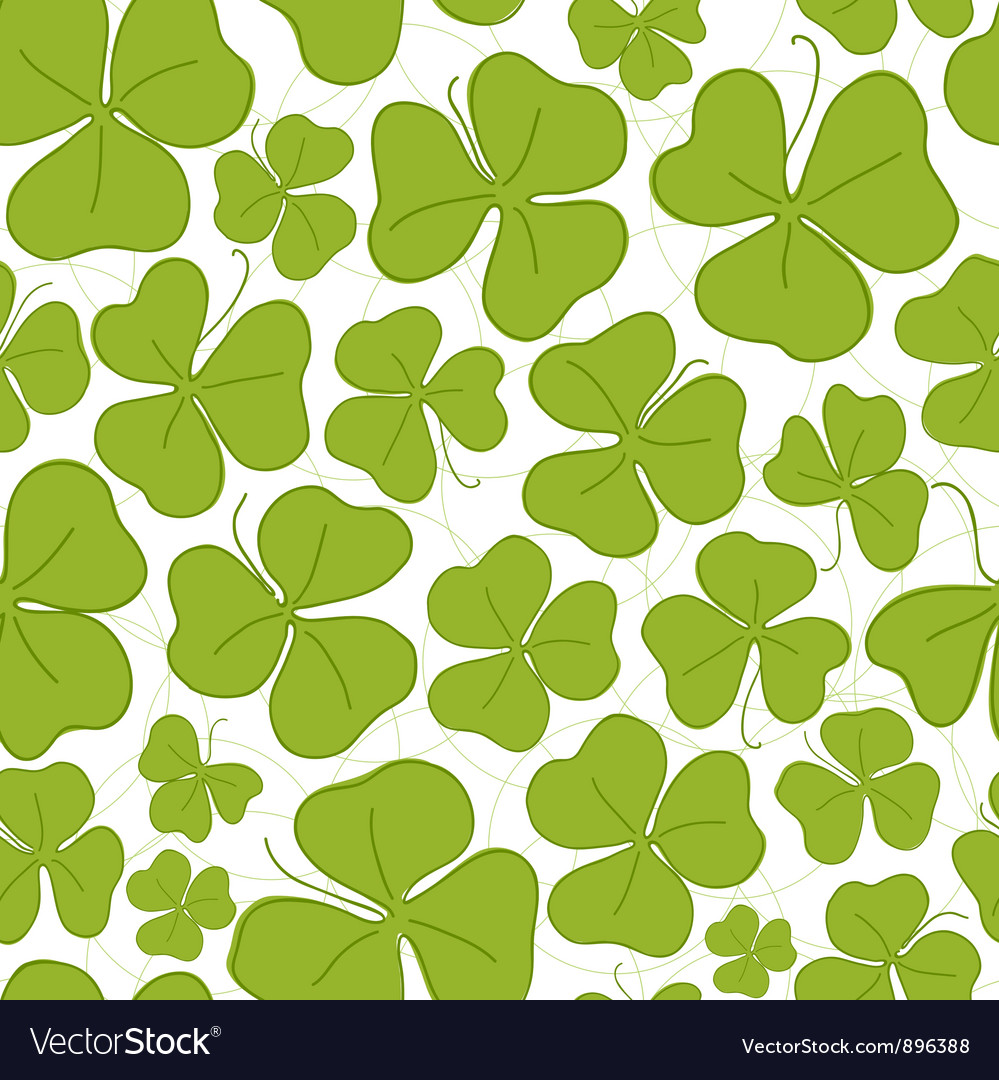 Saint patricks day seamless vector