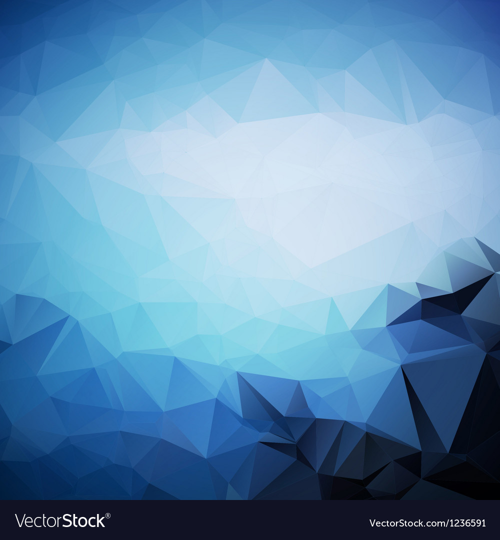 Geometric triangle shapes vector