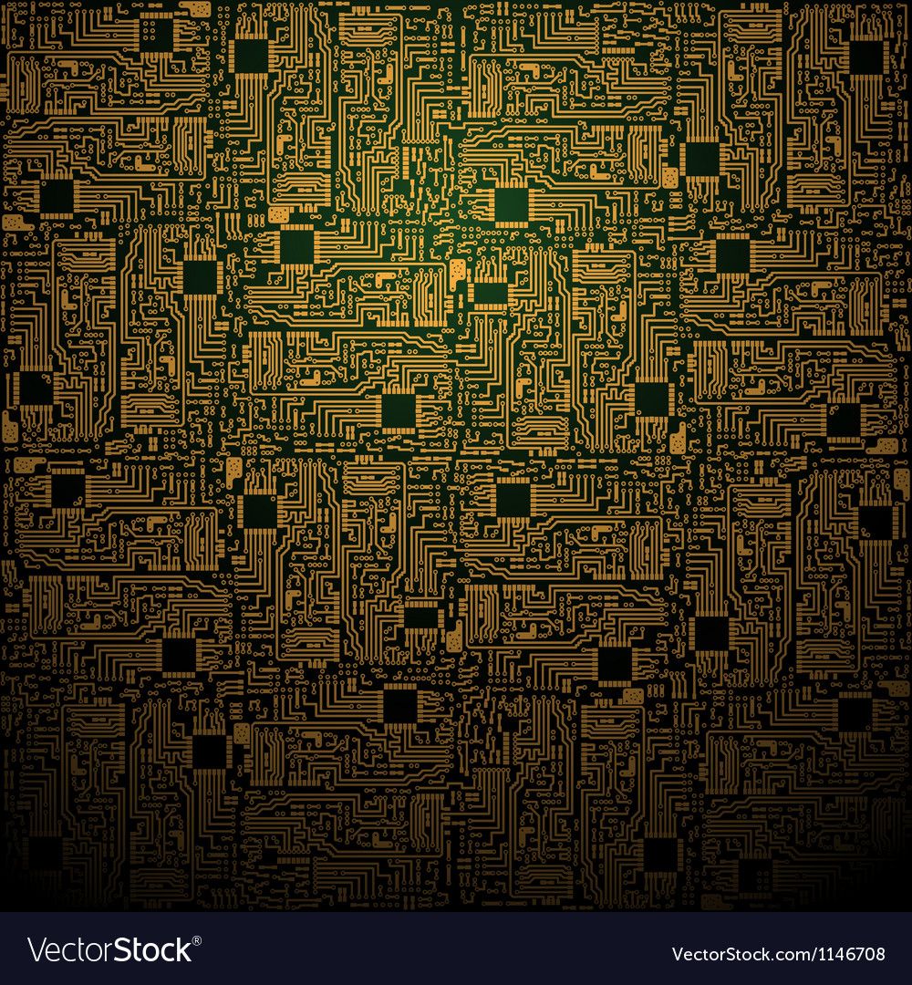 Electrotechnical square pattern vector