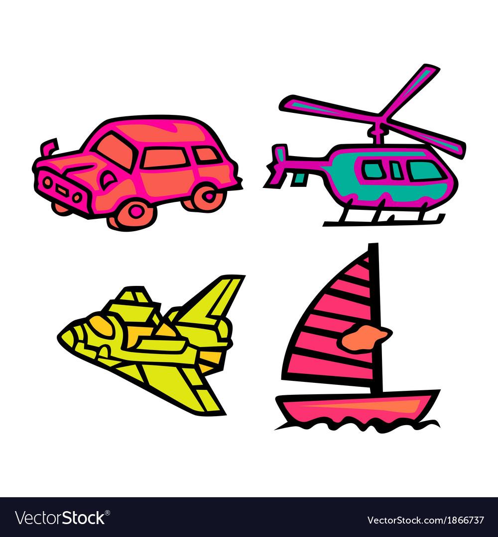 Cute transportation pack