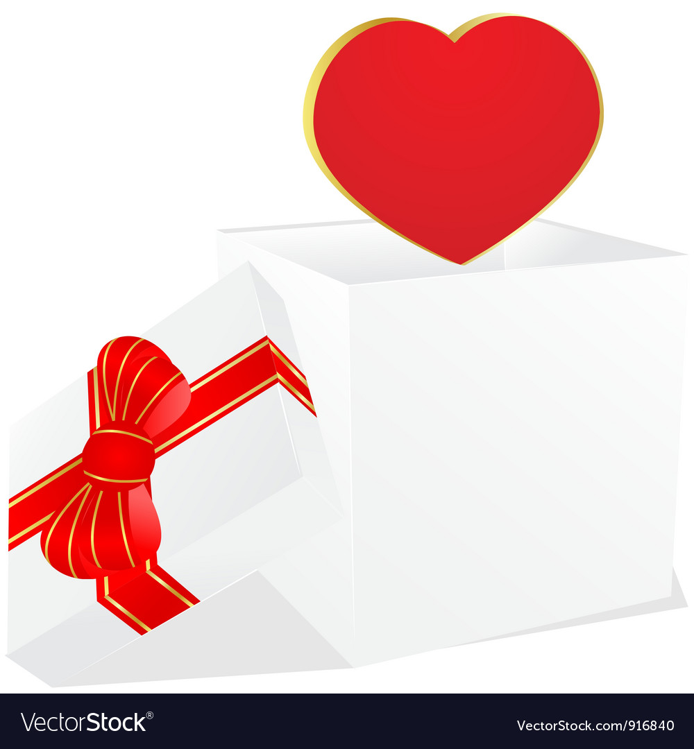 White gift bow vector