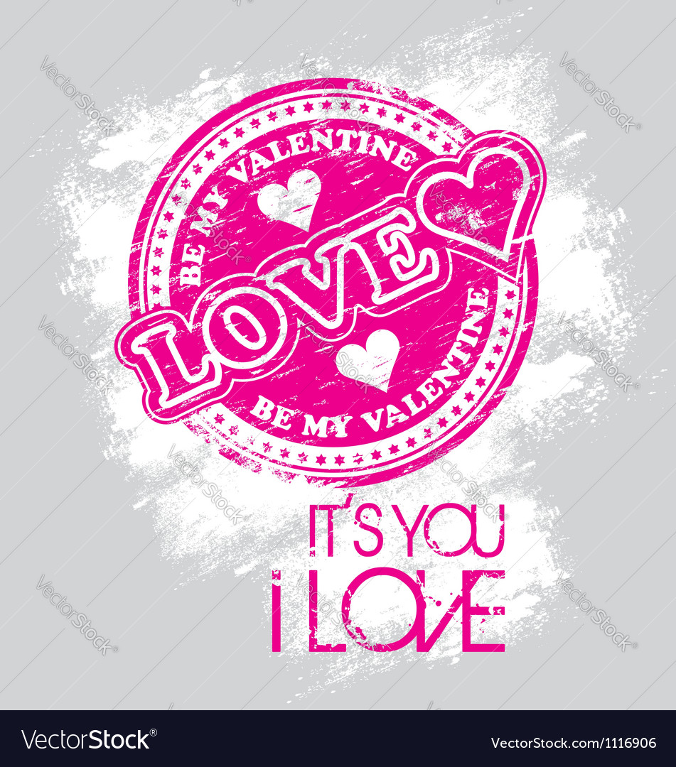Love valentine vector