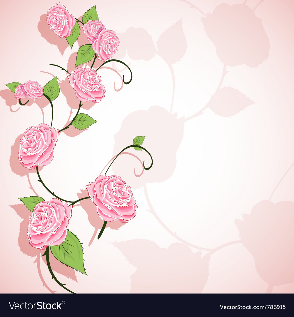 Abstract floral background vector by bruhov - Image #786915 ...