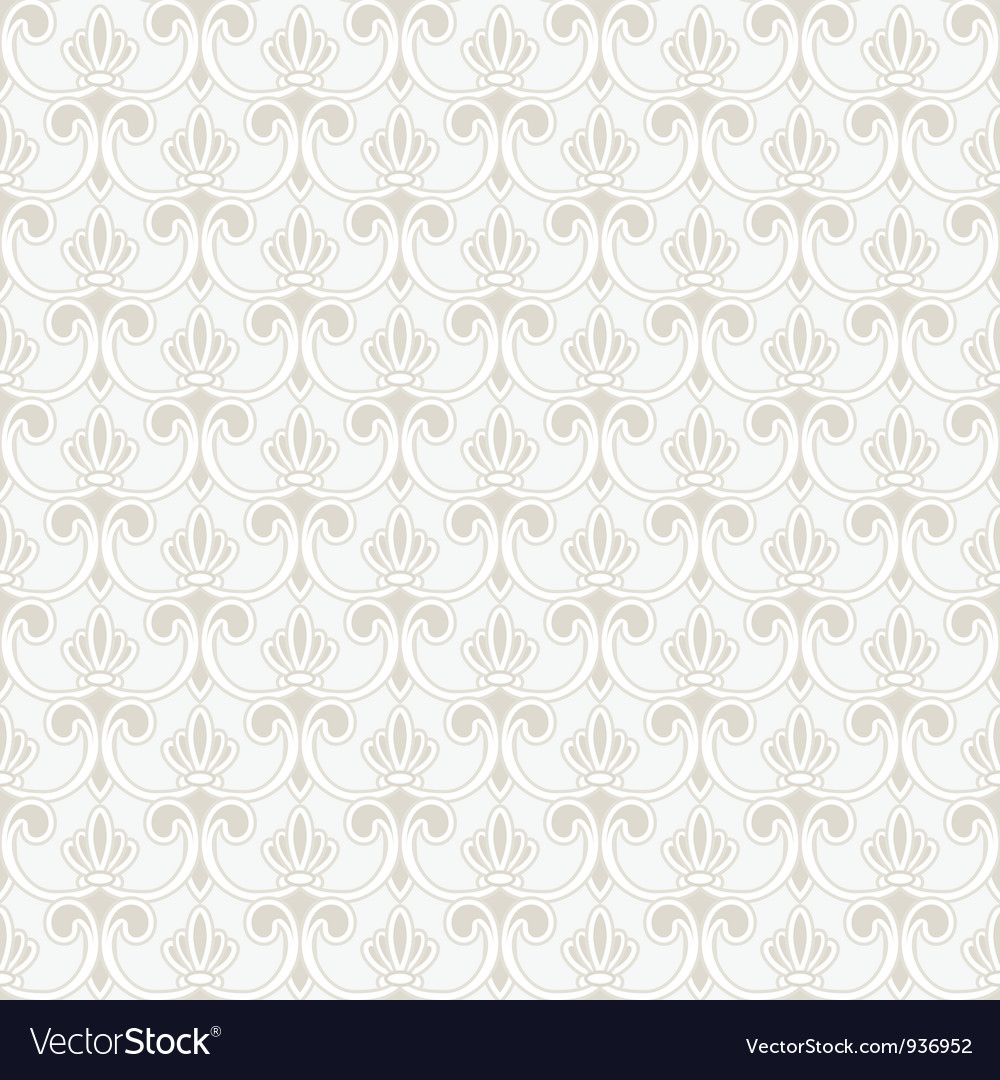 Persian seamless ornament vector