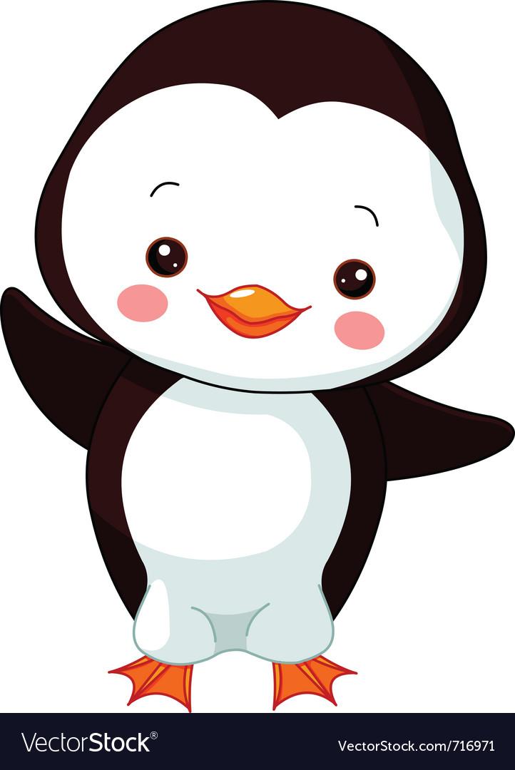 Cartoon penguin vector by Dazdraperma - Image #716971 - VectorStock