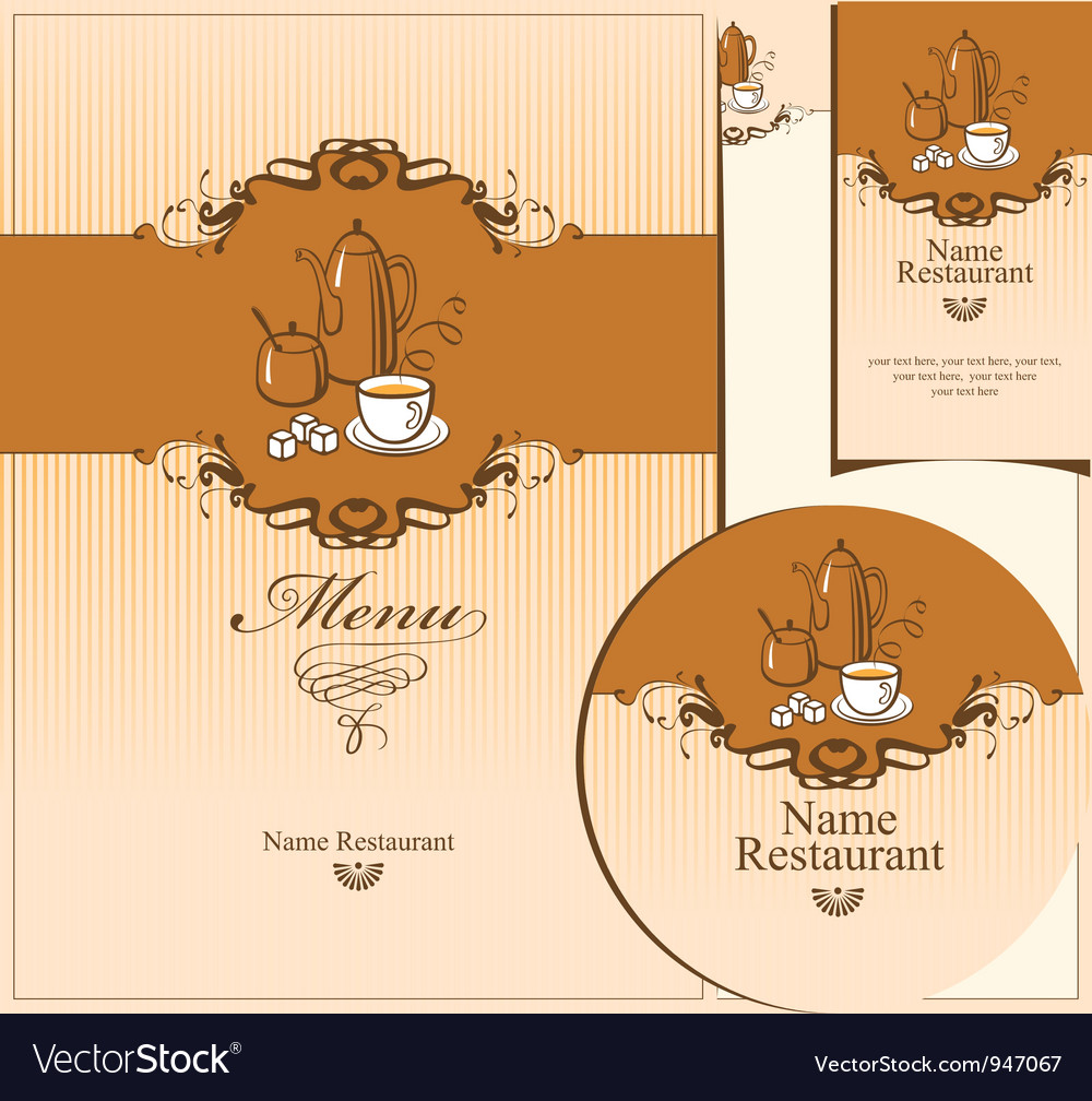 Tea kettle vector