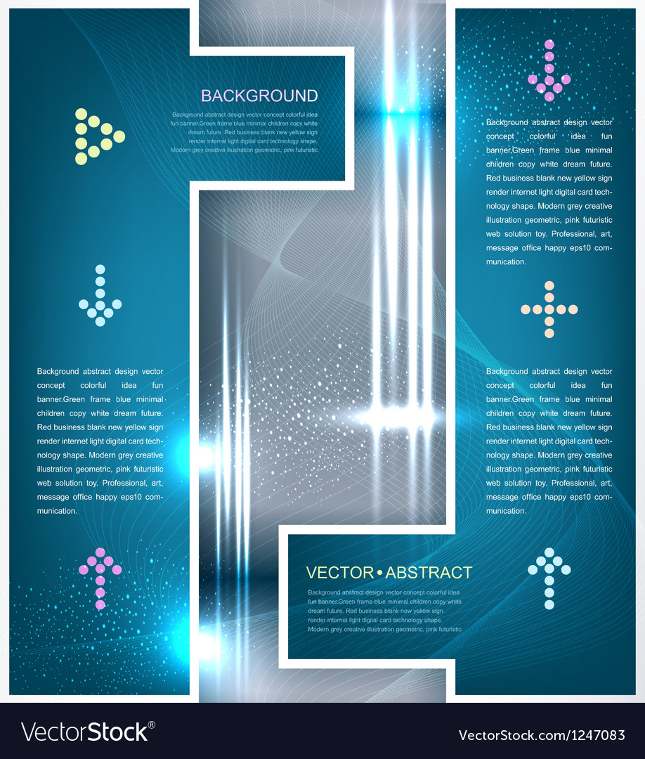 Background design element for business vector
