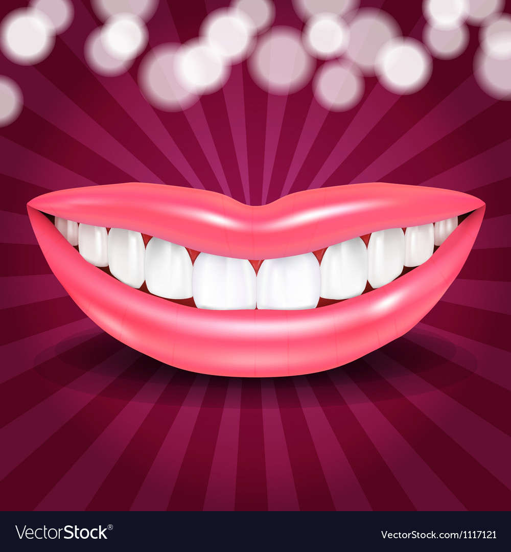 Disco lips vector