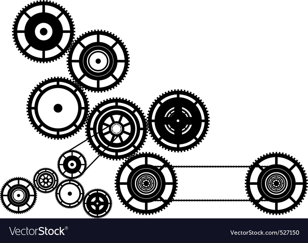 Machinery vector