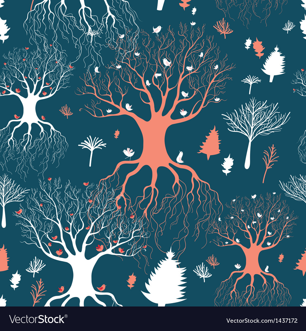 Texture fairy forest vector