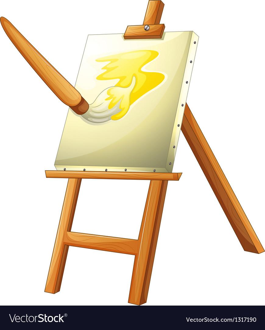 Painting Board Vector A painting board vector by iimages - image ...