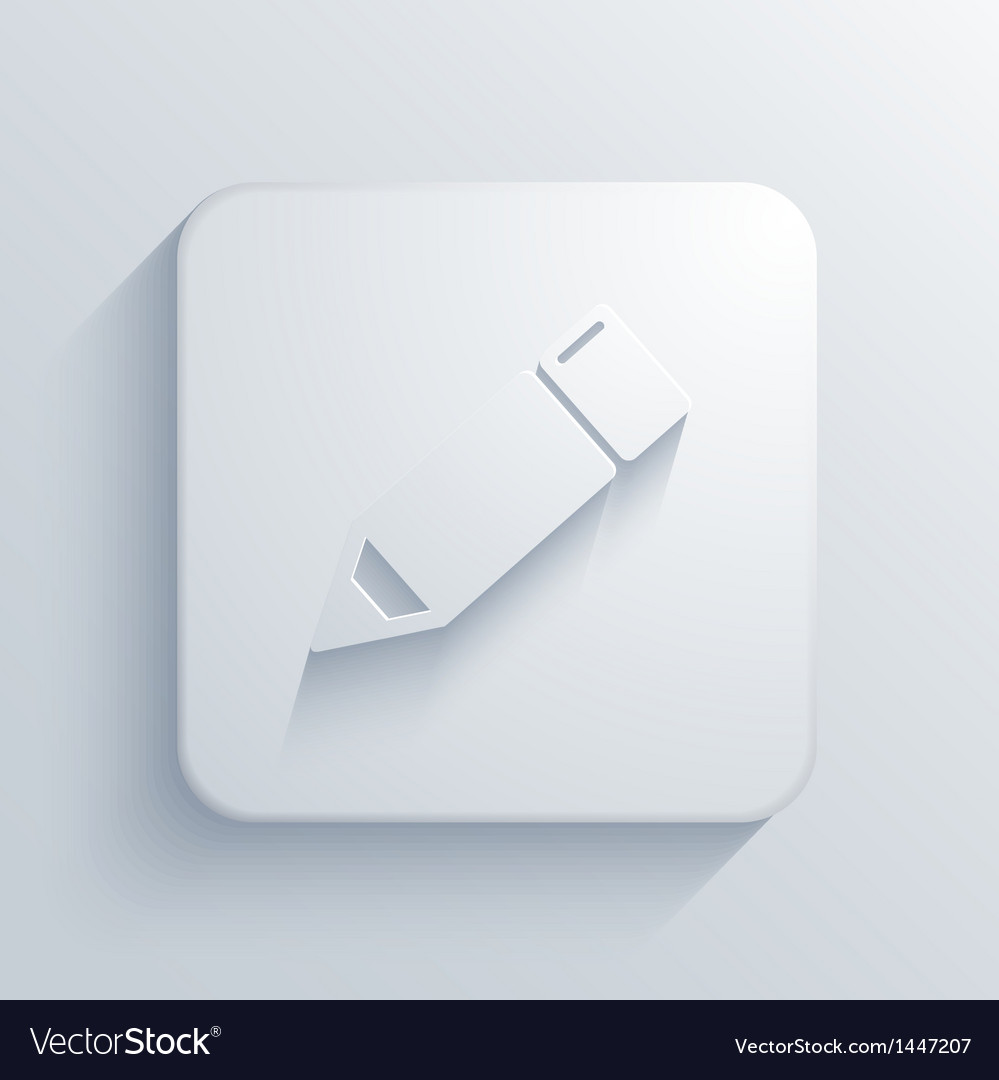 Light square icon eps10 vector