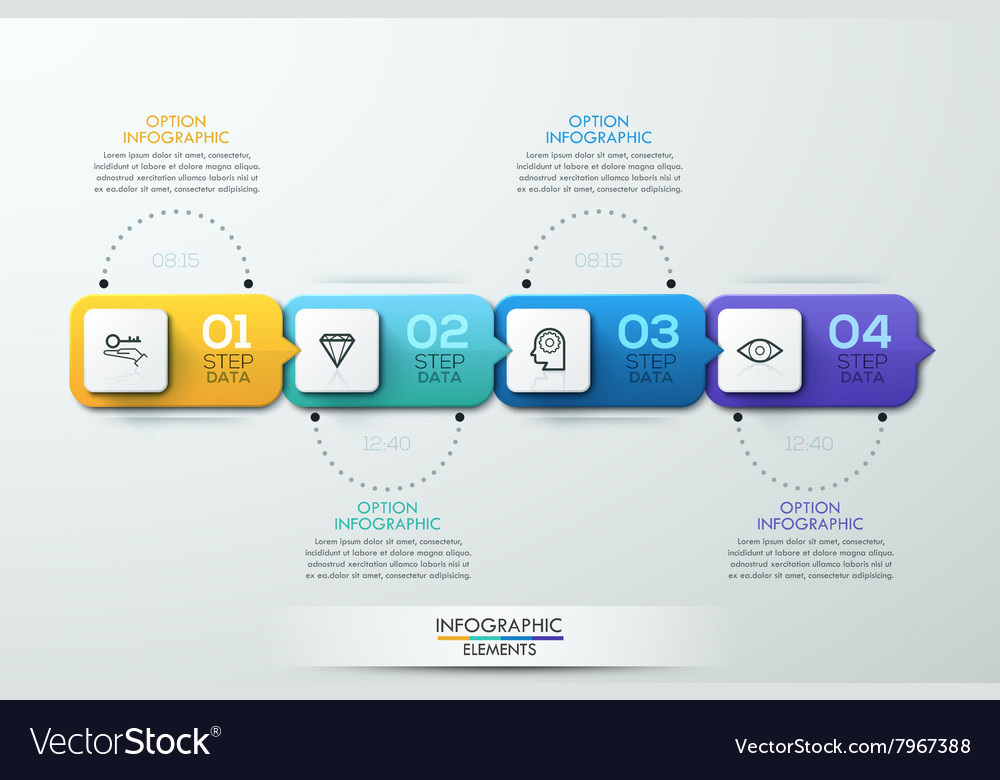 Business timeline infographic template vector by epic_fail - Image ...