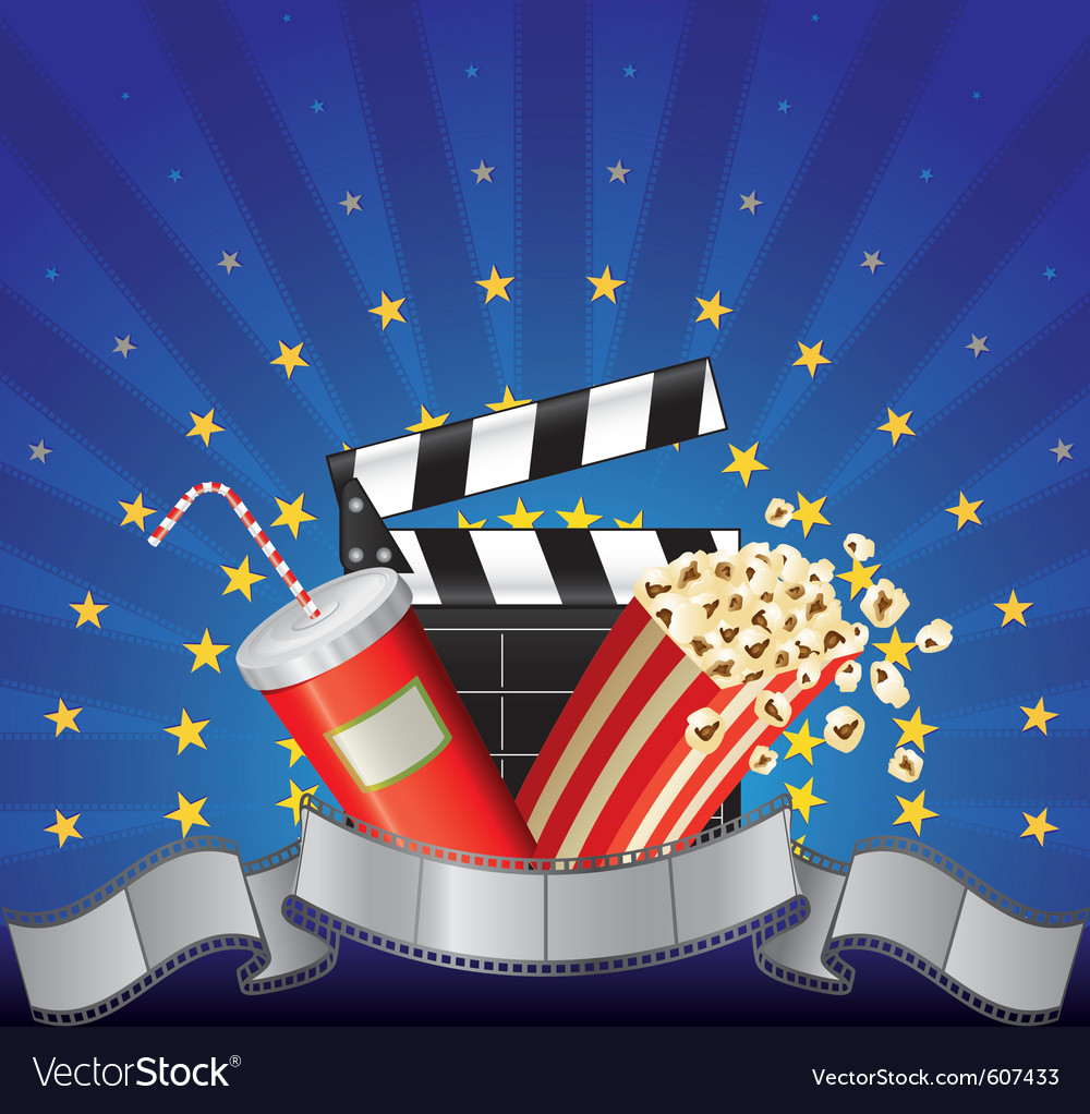Movie premier vector