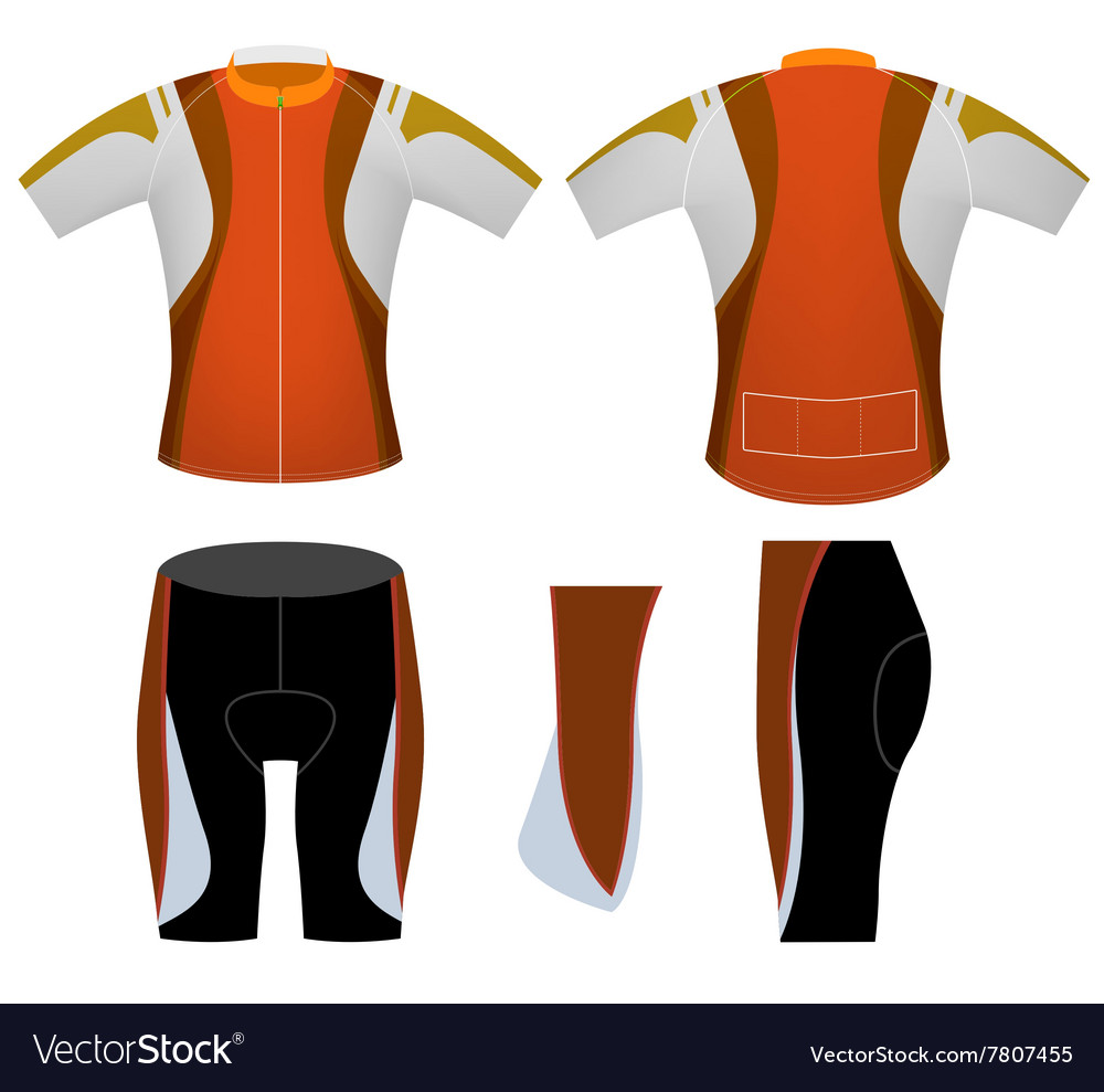 Brown sports cycling vest
