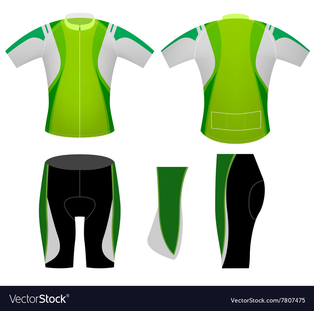 Green sports cycling vest
