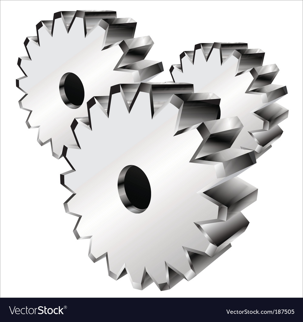 3D Gears Parts Rotating - 3 Pack by SergeyPopov | VideoHive